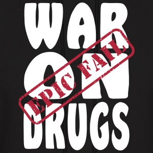 War on Drugs Epic Fail Hoodies - Men's Hoodie