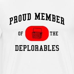 Proud Member Of The Deplorables - Men's Premium T-Shirt