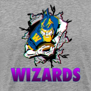 Grey Fly High Wizards Shirt  - Men's Premium T-Shirt