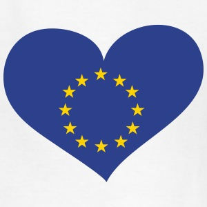 Europe Heart; Love Europe Kids' Shirts - Kids' T-Shirt