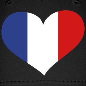 France Heart; Love France Sportswear - Baseball Cap