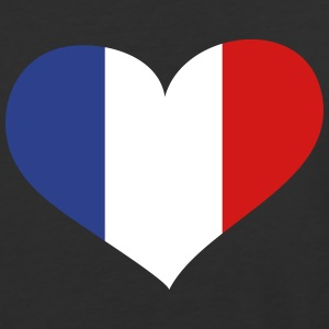 France Heart; Love France T-Shirts - Baseball T-Shirt