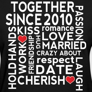 2010 Wedding Anniversary T-Shirts - Women's T-Shirt