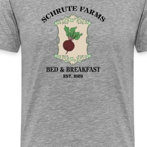 Schrute Farms Bed And Breakfast T-Shirts - Men's Premium T-Shirt