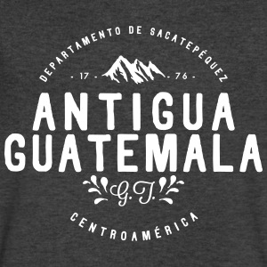 Antigua Guatemala T-Shirts - Men's V-Neck T-Shirt by Canvas
