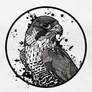 Womens' T Shirt: Peregrine Falcon - Women's Premium T-Shirt