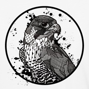 Mens' Baseball Shirt: Peregrine Falcon - Baseball T-Shirt