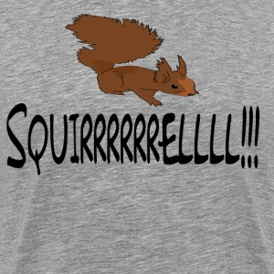 Christmas Vacation - Squirrel!!! T-Shirts - Men's Premium T-Shirt