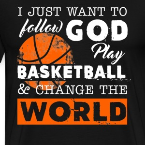 Play Basketball Shirt - Men's Premium T-Shirt
