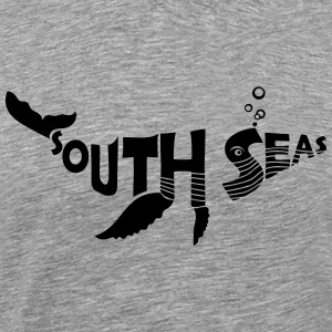 SOUTH SEAS Whale T-Shirts - Men's Premium T-Shirt