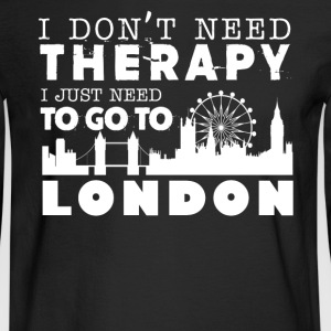 London Therapy Shirt - Men's Long Sleeve T-Shirt