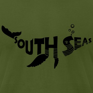 SOUTH SEAS Whale T-Shirts - Men's T-Shirt by American Apparel