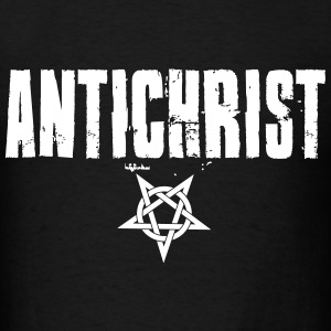 AntiChrist - Pentagram T-Shirts - Men's T-Shirt