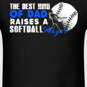 Softball Dad Tee Shirt - Men's T-Shirt