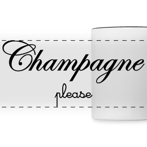 Champagne Please Mugs & Drinkware - Panoramic Mug