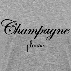 Champagne Please T-Shirts - Men's Premium T-Shirt