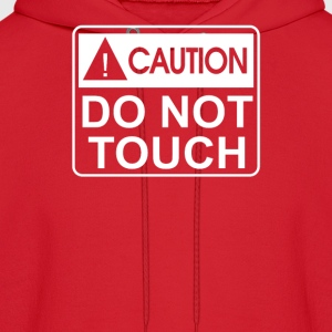 Do Not Touch the Belly Maternity - Men's Hoodie