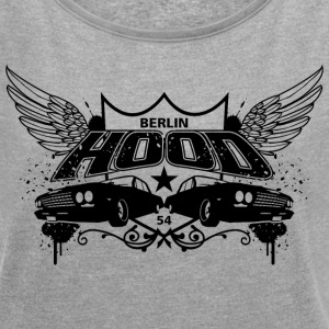 Berlin Hood Wings T-Shirts - Women´s Roll Cuff T-Shirt
