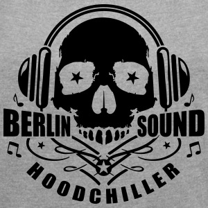 Skull Berlin Sound T-Shirts - Women´s Rolled Sleeve Boxy T-Shirt