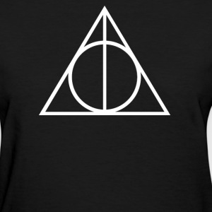 DEATHLY HALLOWS TRIANGLE - Women's T-Shirt