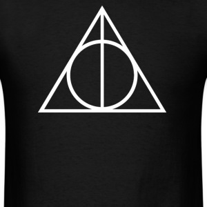 DEATHLY HALLOWS TRIANGLE - Men's T-Shirt
