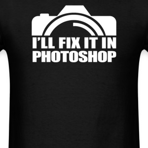 Funny Camera Photography - Men's T-Shirt