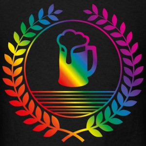 beer rainbow T-Shirts - Men's T-Shirt