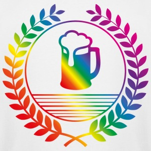 beer rainbow T-Shirts - Men's Tall T-Shirt
