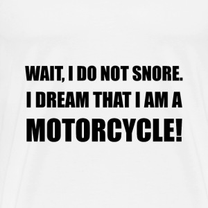 Snore Motorcycle - Men's Premium T-Shirt