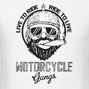 Live to ride - Ride to live - Men's T-Shirt