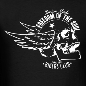 Freedom of the soul - Bikers club - Men's T-Shirt