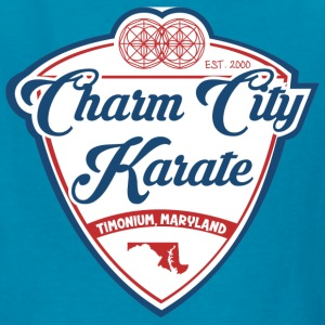 Kids Charm city Karate baseball-style tee - Kids' T-Shirt