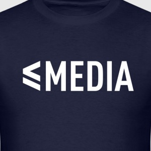 InCrunch Media - T-shirt (Navy Blue) - Men's T-Shirt