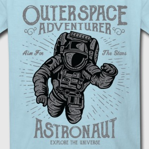 Astronaut Outer Space Kids' Shirts - Kids' T-Shirt