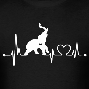 Elephant Love Shirt - Men's T-Shirt