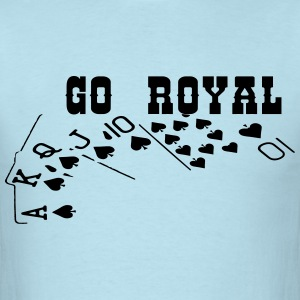 royal_flush3 T-Shirts - Men's T-Shirt