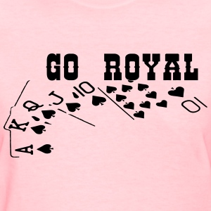 royal_flush3 T-Shirts - Women's T-Shirt