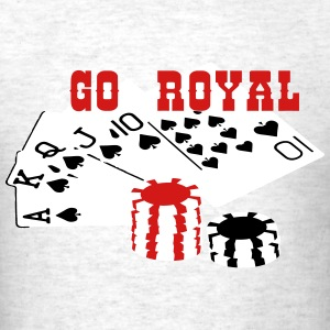 royal_flush2 T-Shirts - Men's T-Shirt