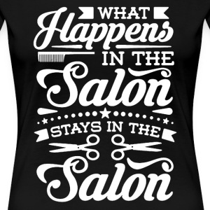 Salon Shirt - Women's Premium T-Shirt