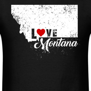 Love Montana Shirt - Men's T-Shirt