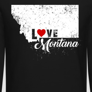 Love Montana Shirt - Crewneck Sweatshirt