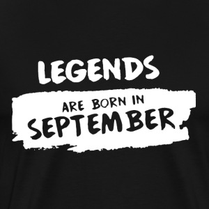 Born In September Shirt - Men's Premium T-Shirt