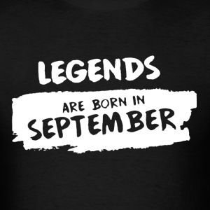 Born In September Shirt - Men's T-Shirt