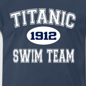 Titanic Swim Team T-Shirts - Men's Premium T-Shirt