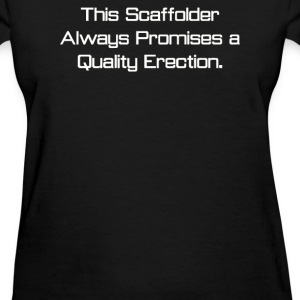 Rude Scaffolder - Women's T-Shirt