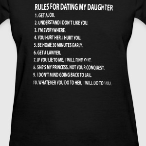 Rules For Dating My Daughter - Women's T-Shirt
