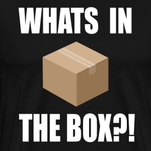 Seven Quote - Whats In The Box?! T-Shirts - Men's Premium T-Shirt