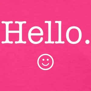 Hello :) T-Shirts - Women's T-Shirt