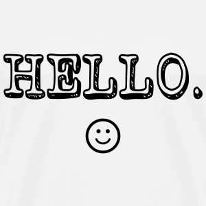 Hello :) T-Shirts - Men's Premium T-Shirt