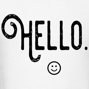 Hello :) T-Shirts - Men's T-Shirt